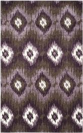 Safavieh Retro RET2143-2873 Dark Brown and Eggplant