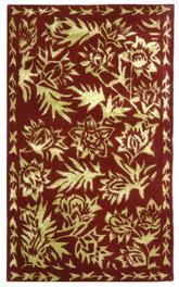 Safavieh Riviera RIV312A Red and Gold