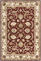 Safavieh Royalty ROY244B Red and Ivory