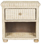 ADIRA WICKER END TABLE