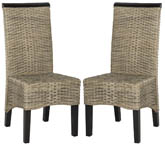 ILYA WICKER DINING CHAIR