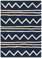 Safavieh Safavieh Kids SFK907N Navy and Ivory