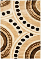 Safavieh Miami Shag SG363-1391 Beige and Multi