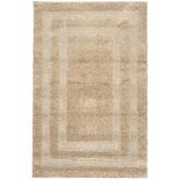 Safavieh Florida Shag SG454-1313 Beige and Beige