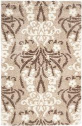 Safavieh Florida Shag SG457-1311 Beige and Cream