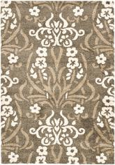 Safavieh Florida Shag SG457-7913 Smoke and Beige