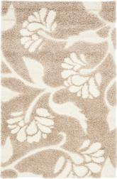 Safavieh Florida Shag SG459-1311 Beige and Cream