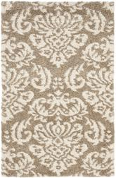 Safavieh Florida Shag SG460-1311 Beige and Cream