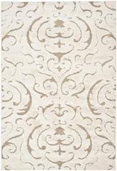 Safavieh Florida Shag SG462-1113 Cream and Beige