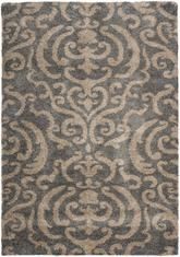 Safavieh Florida Shag SG462-8013 Grey and Beige