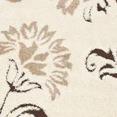 Safavieh Florida Shag SG463-1128 Cream and Dark Brown