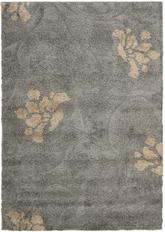 Safavieh Florida Shag SG464-8013 Grey and Beige