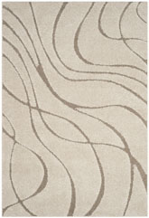 Safavieh Shag SG4711113 Cream and Beige