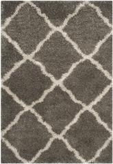 Safavieh Belize Shag SGB489G Grey and Taupe