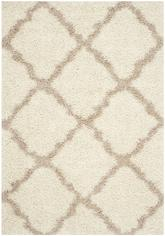 Safavieh Dallas Shag SGD257B Ivory and Beige