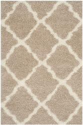 Safavieh Dallas Shag SGD257D Beige and Ivory