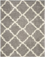 Safavieh Dallas Shag SGD257G Grey and Ivory