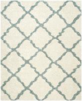 Safavieh Dallas Shag SGD257J Ivory and Light Blue
