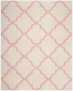 Safavieh Dallas Shag SGD257P Ivory and Light Pink