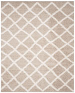Safavieh Dallas Shag SGD258D Beige and Ivory