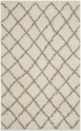Safavieh Dallas Shag SGD258F Ivory and Grey