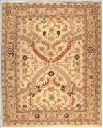 Safavieh Sumak SK120C Ivory and Gold