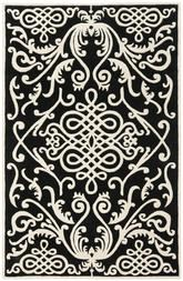 Safavieh Soho  SOH120A Black and Ivory