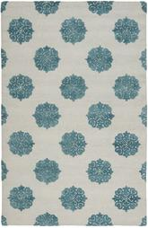 Safavieh Soho  SOH213A Ivory and Light Blue