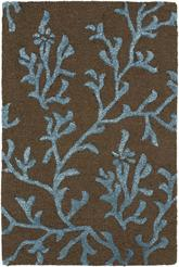 Safavieh Soho  SOH214B Brown and Light Blue