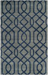 Safavieh Soho SOH411A Grey and Dark Blue