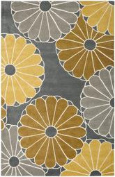 Safavieh Soho SOH705A Grey and Yellow