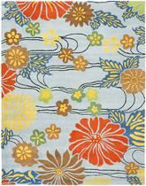 Safavieh Soho  SOH738B Blue and Multi