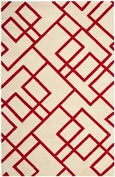 Safavieh Soho SOH790B Beige and Red