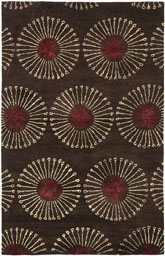 Safavieh Soho  SOH821B Coffee and Brown