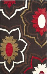 Safavieh Soho  SOH857A Brown and Multi