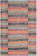 Safavieh Striped Kilim STK411A Rust