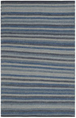 Safavieh Striped Kilim STK421A Blue