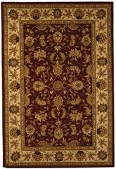 Safavieh Traditions TD602D Burgundy and Ivory
