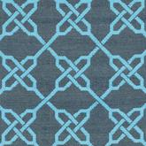 Safavieh Thom Filicia TMF121B Spray and Blue
