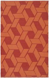 Safavieh Thom Filicia TMF124A Blood and Orange