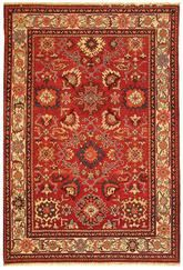 Safavieh Turkistan TRK101A Red and Ivory