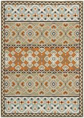 Safavieh Veranda VER093-0742 Green and Terracotta