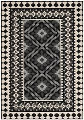 Safavieh Veranda VER099-0421 Black and Creme
