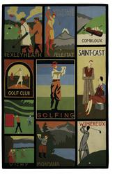 Safavieh Vintage Posters VP252A Assorted