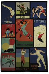 Safavieh Vintage Posters VP254A Assorted