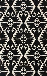 Safavieh Wyndham WYD323D Black and Ivory
