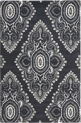 Safavieh Wyndham WYD372C Dark Grey and Ivory