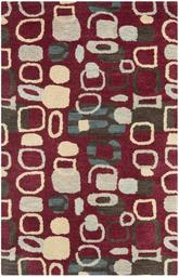 Safavieh Wyndham WYD621A Red and Multi