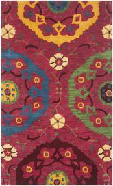 Safavieh Wyndham WYD985A Red and Multi
