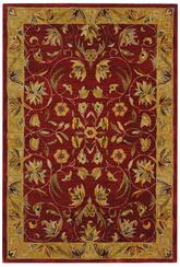 Safavieh Anatolia AN526A Burgundy and Gold
